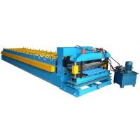 China Color Coated Coil 16 Station Roller Roll Forming Machine For Roofing Sheet wholesale