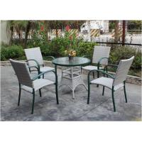 China garden furniture aluminum alloy dining furniture-17048 wholesale