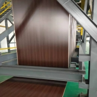 China T351 Temper Coloured Aluminium Sheet For Gutter Roofing wholesale