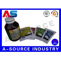 Buy cheap Printed Vitamin Custom Private Label Waterproof High Quality Printing from wholesalers
