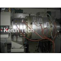 China 16 - 800mm Waste PVC Pipe Extrusion Machine / Extrusion Line PLC wholesale