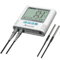 Quality Dual Temperature Humidity Data Logger With Alarm Function High Accuracy for sale