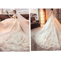 China New Type Luxurious long tail wedding dress wholesale