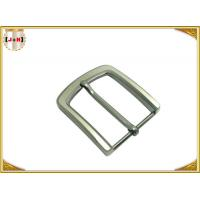 Quality Pearl Nickel Brushed 1.5 Inch Metal Belt Buckle Perfect Design Die Casting for sale