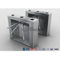 Quality Biometric Recognition Tripod Turnstile With Remote Button Control , CE Approval for sale