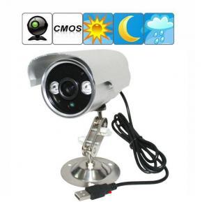 China K908 Double Lamp Array IR LED Night Vision Waterproof CCTV Surveillance TF Card DVR Camera wholesale
