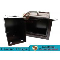 Buy cheap Luxury Double Lock Cash Holder Box , High Precision Security Casino Cash Box from wholesalers