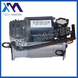 China Mercedes W220 Air Suspensoin Pump , OE 2203200104 Air Compressor wholesale