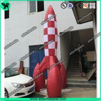 Buy cheap 3m Advertising Inflatable Rocket Model,Event Rocket Customized from wholesalers