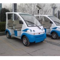 China Four wheel Low Speed Electric Vehicles , Four Seat 3 KW Electric Shuttle Bus on sale