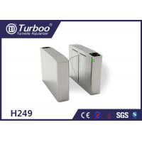 Quality Fingerprint Optical Barrier Turnstiles Access Control System Self Reset Function for sale