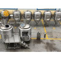 China Customized Beer Brewing Equipment , Easy Operate Microbrewery Brewing Equipment wholesale