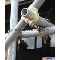 China Putlog Drop Forged Double Coupler Zinc Plated Finishing At 90 Degree Right Angle on sale