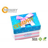 Buy cheap Coated Paper Custom Size Gift Boxes CMYK Printing For Medecine Packaging product