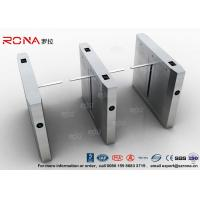Quality High Speed Drop Arm Turnstile , Magnetic Card Stainless Steel Access Control for sale