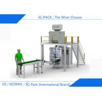 Professional Automatic Form Fill Seal Machines , Linear Weigher Vertical Bagging Machine