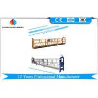 Buy cheap 10m Electrical Swing Stage Scaffold ZLP1000 Steel / Hot Galvanized / Aluminum Gondola Cradle product