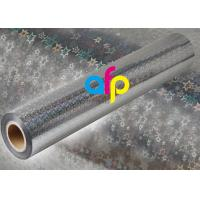 China Holographic Metalized BOPP Film , BOPP Transparent Film Roll For Packing wholesale