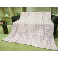China Colored Lightweight Flannel Blanket , Soft Printed 100 Polyester Throw Blanket wholesale