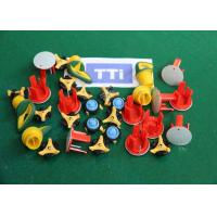 China Precision Double Color Injection Moulding Parts Producion With PP TPE Material wholesale