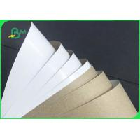 China Grade AA 140gsm 170gsm Recyclable White Top Kraft Liner Paper For Packaging wholesale