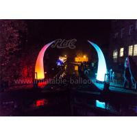 China 4m Ivory Shaped Inflatable Cone RC LED Lighted Design For Decoration wholesale