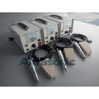 Quality 220V Plastic Ultrasonic Cutting Machine , 40khz Handheld Ultrasonic Knife for sale