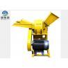 China Yellow Small Pto Wood Chipper / Tree Branch Chipper Machine 7.5-15KW wholesale