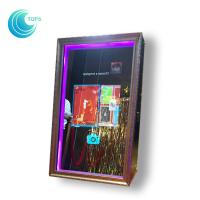 Diy Rental Shopping Mall Digital Automatic Selfie Mirror Photo Booth For Events