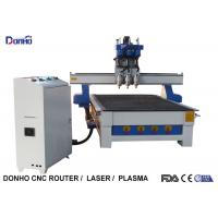 China Three Spindles CNC 3D Router Machine , CNC Engraving Machine Computer Controlled wholesale