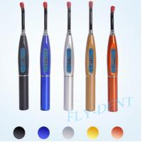 China Five Colors Option Rainbow Dental Wireless LED Light Curing Unit wholesale