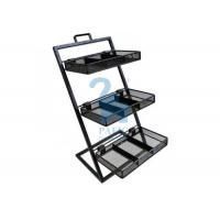 Quality Customised Size Stationery Display Rack Metal Flower Pot Stand Shelf For Flower for sale