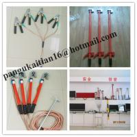 Quality Copper grounding rod&earth rods,Short-circuit Grounding operation Pole for sale