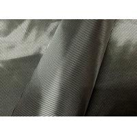 China Grey Jacket Twill Lining Fabric , Lightweight Twill Fabric Raw Material wholesale