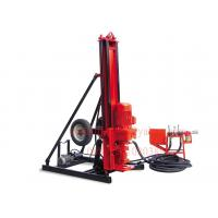 China Pneumatic Powered Rock Drilling Rig , Mobile Down The Hole DTH Drilling Machine wholesale