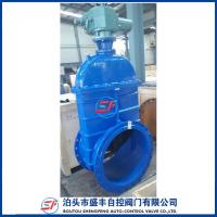 China GGG50 resilient seated ductile iron electric gate valve wholesale