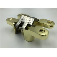 China Gold Plated Heavy Duty Hidden Closet Door Hinges With CNAS MA AL Certificate wholesale