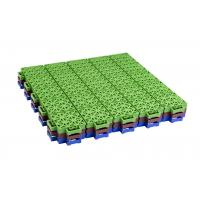 China Kids Playground Equipments Pp Interlocking Tiles For Outdoor Basketball Court wholesale