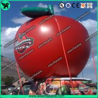 China Event Fashionable Red Custom Inflatable Apple , Large Inflatable Advertising Products wholesale
