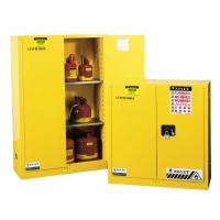 Flammable Liquid Storage Cabinet, fireproof safety storage cabinets, yellow