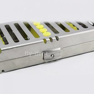 Quality Dental Sterilization Cassette Rack Tray for 5 Dental Surgical Instruments for sale