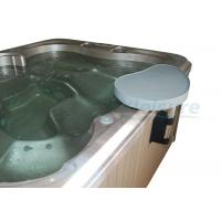 China Waterproof Hot Tub Side Table Grey Screw On Spa Bar Long Service Life wholesale
