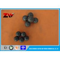 China Ball Mill Forged Steel Grinding Balls High Hardness HRC 58-63 60mn on sale