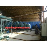 China Automobile Car Oil Recycling System,Engine Oil Vacuum Distillation System and  Purifying Equipment wholesale