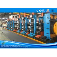 China ERW60 Industrial Tube Mills Blue Color High Frequency Welding Cold Saw wholesale