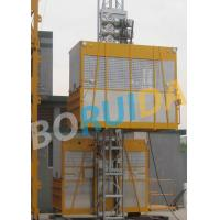 China Ramp Door Style Construction Material Lifting Hoist , Construction Lifting Equipment wholesale