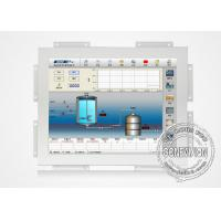 China White Color Touch Screen Open Frame Lcd Monitors Wall Mount High Brightness wholesale