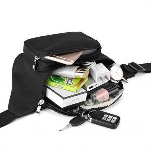 China 900 D oxford waist backpack, zipper closure bum outdoor sports bags wholesale