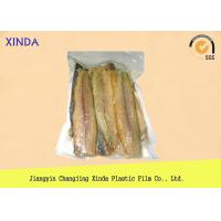 China Eco Frozen Fish 3 Side Sealed Vacuum Pack Storage Bags With Exquisite Gravure Printing wholesale
