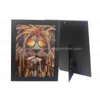Quality 3D Picture Paper Frame Lenticular Printing Services PET Custom Design Stand Or Hang Decoration for sale